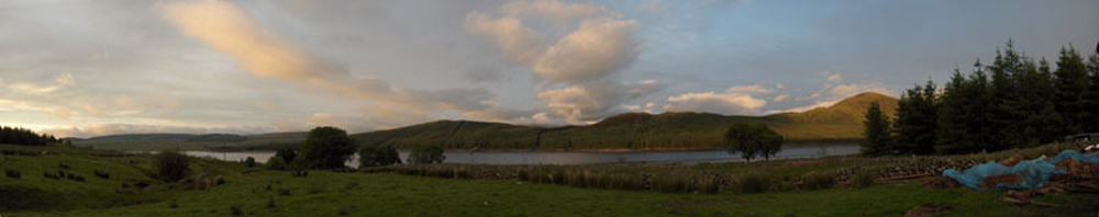 Loch Doon Evening